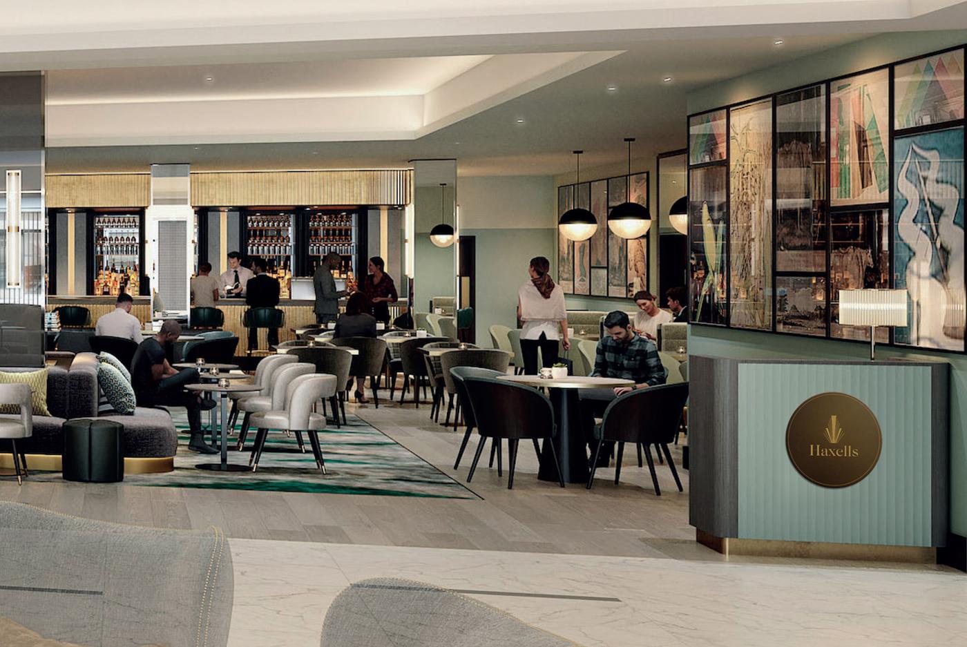 strand palace hotel brand storytelling Haxells restaurant